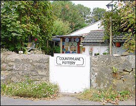 Country Lane Pottery Cornwall