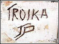 Troika Pottery Mark - Julian Greenwood-Penny