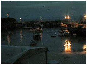 Newquay Harbour, Cornwall (dusk)