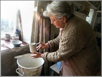 Tintagel Pottery - Enid Mutton
