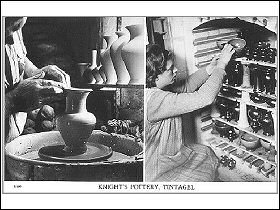 Knight's of Tintagel Pottery