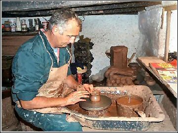 St Nectan's Pottery - Brian Anderson